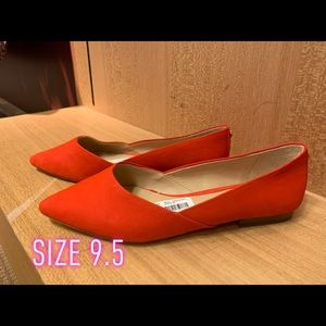 Gianni binni Orange flats  for every day use